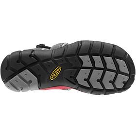 Keen Seacamp II CNX Sandals Children Magnet/Racing Red
